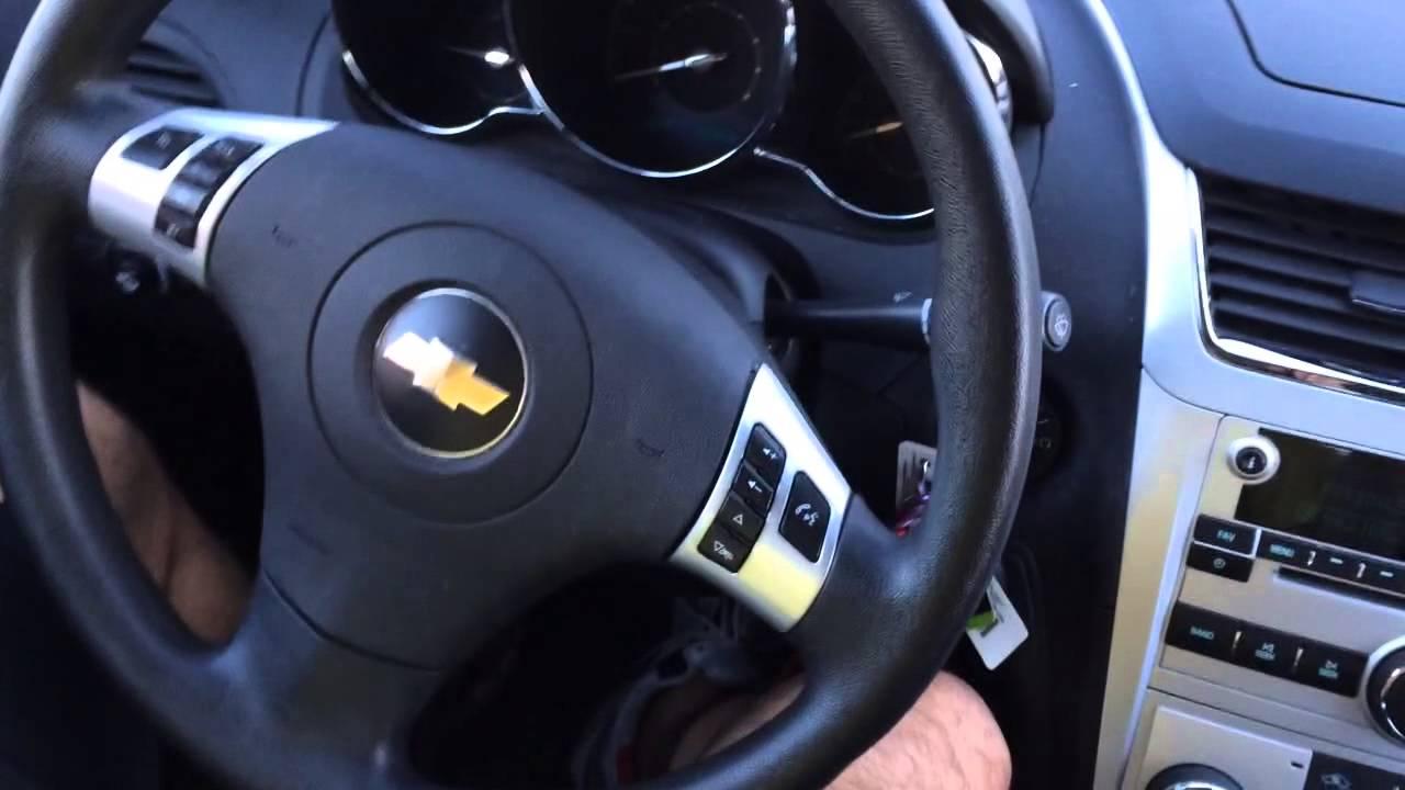 Steering Wheel Shaking >> Chevrolet Malibu shaking steering wheel - YouTube