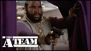Murdock and B.A. Baracus take back the plane   The A-Team