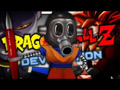Rock, Scissors Paper!! Toriyama VS His Creations!! | Dragon Ball Z Devolution