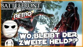 Wo bleibt der zweite Held? Star Wars Battlefront Retro #66 - Lets Play deutsch Tombie