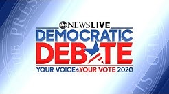 WATCH LIVE: Democratic Presidential Candidates Debate in New Hampshire l ABC News Live
