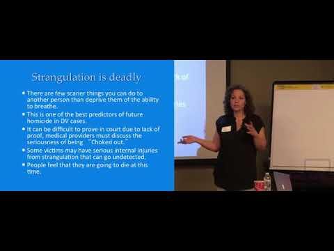 Intimate Partner Strangulation Prevention/Intervention Presentation