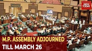 M.P. Political Crisis: Govt Defies Governor As Speaker Adjourns Assembly Till March 26