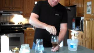 Organic raspberry chocolate iced coffee