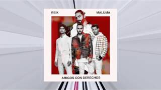 Amigos con derecho- Reik Feat. Maluma (Audio) (AUDIOFICIAL)
