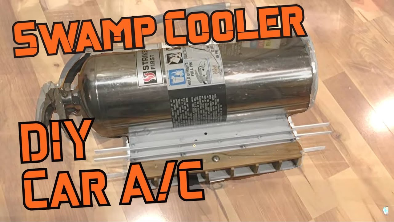 Homemade Car Air Conditioner Vintage Swamp Cooler For Volkwagen