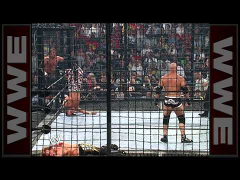 Goldberg spears Chris Jericho into a pod: SummerSlam 2003