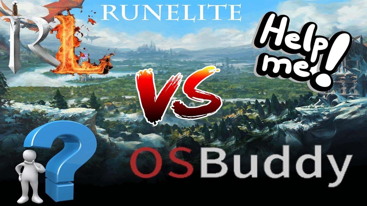 Old School Runescape (Ep  #4) - Runelite vs OSBuddy