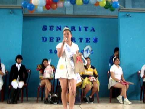 7ed9279af Eleccion señorita deportes ENCCAV - YouTube