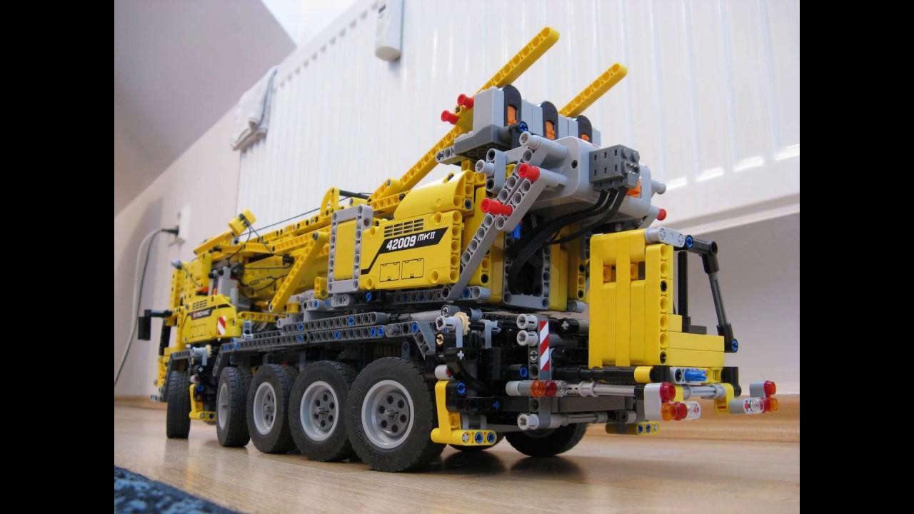 Rc Lego Technic Mobile Crane Part2 Youtube