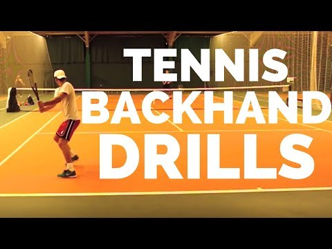 Advanced Tennis Backhand Drills - Top Tennis Training