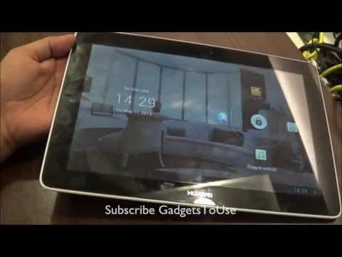 Huawei Mediapad 10 Link Hands On Review HD