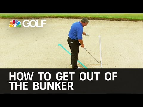 How to Get out of the Bunker Easily | Golf Channel