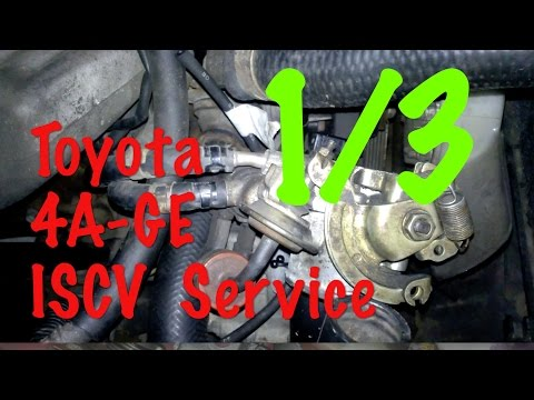 Toyota 4AGE Engine Throttle Body Service (1/3) : Removing the Throttle Body