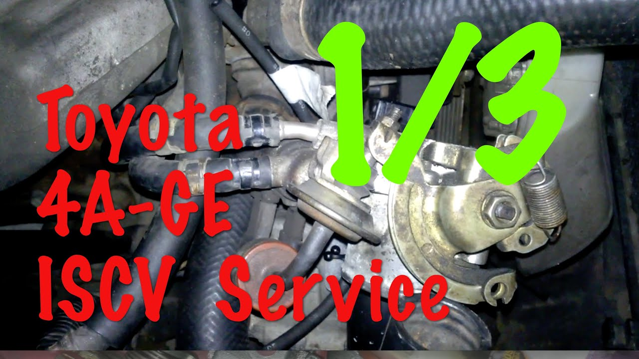 Toyota 4age Engine Throttle Body Service 1 3 Removing