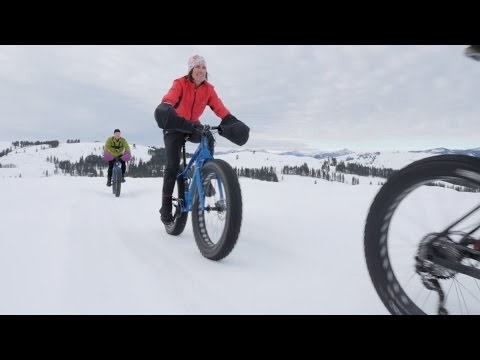 Fat Bikes Gain Traction As New Winter Sport