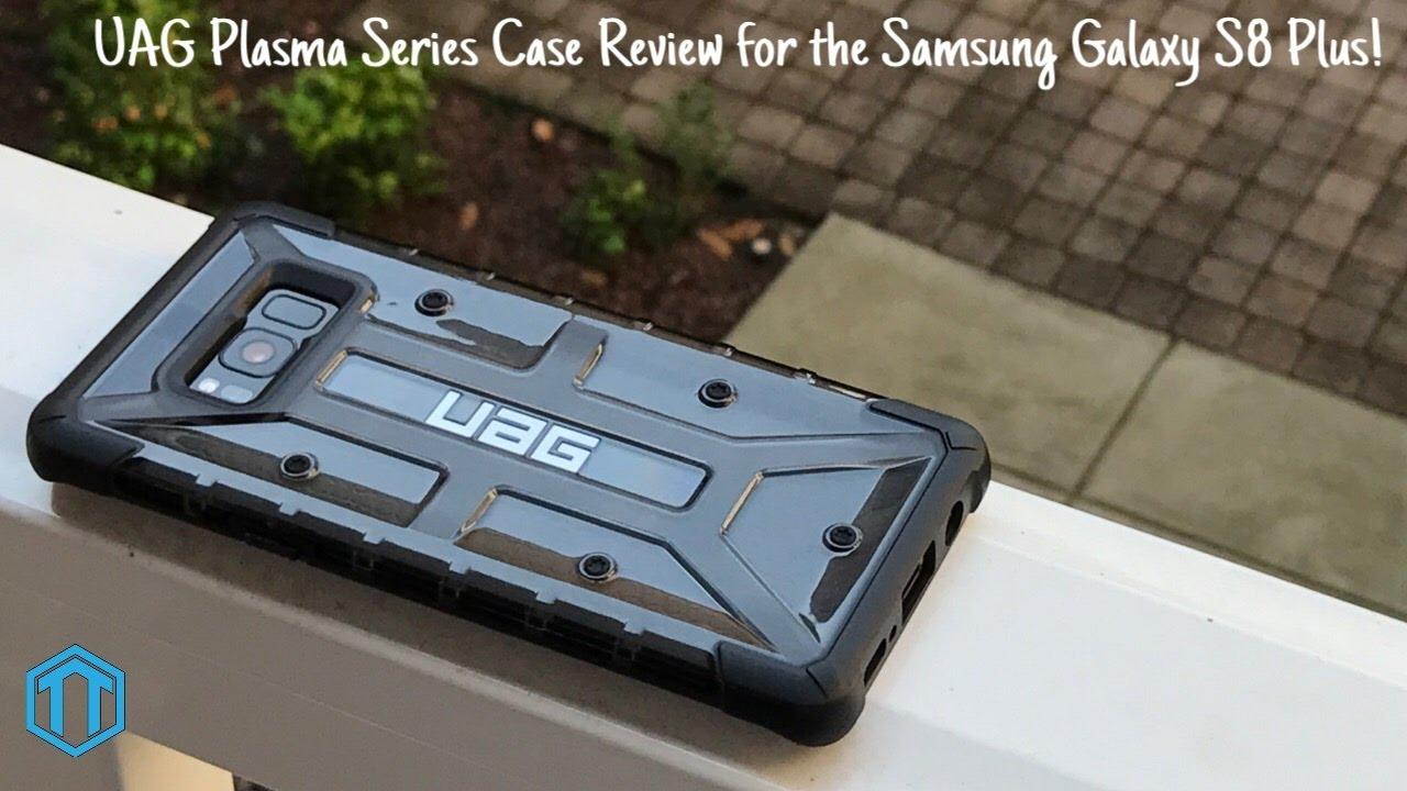 separation shoes 2610a c7d64 Samsung Galaxy S8 Plus UAG Plasma Ash Case Review!