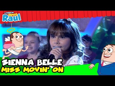 """SIENNA BELLE CANTA """"MISS MOVIN&39; ON"""" NO PROGRAMA RAUL GIL"""
