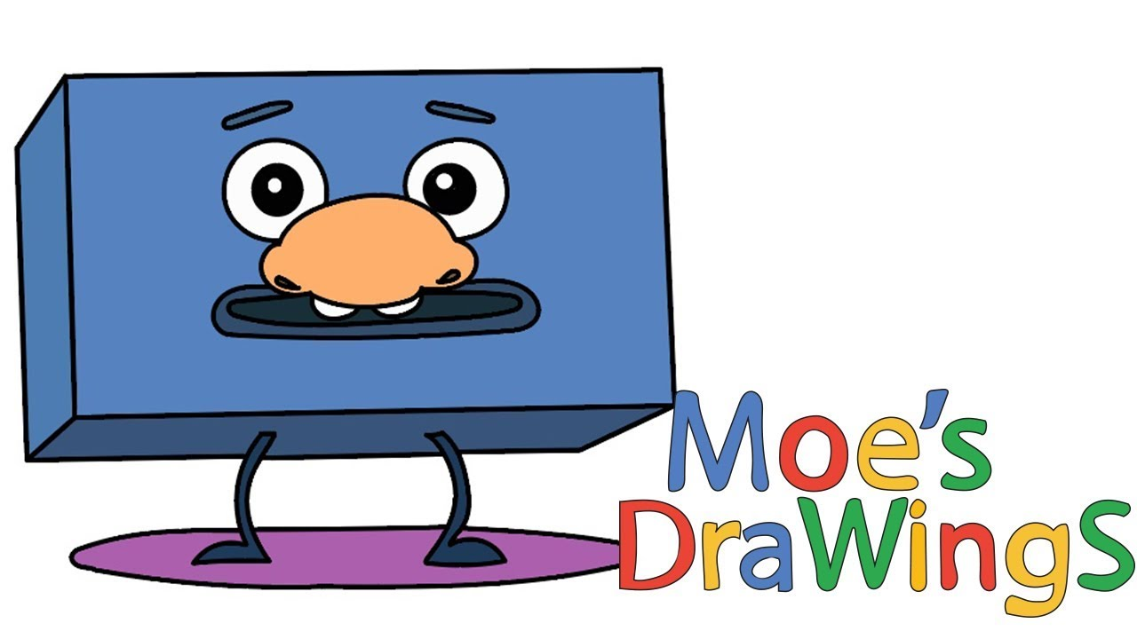 Big Block Sing Song Nose How to draw and coloring fun new Hd video ...