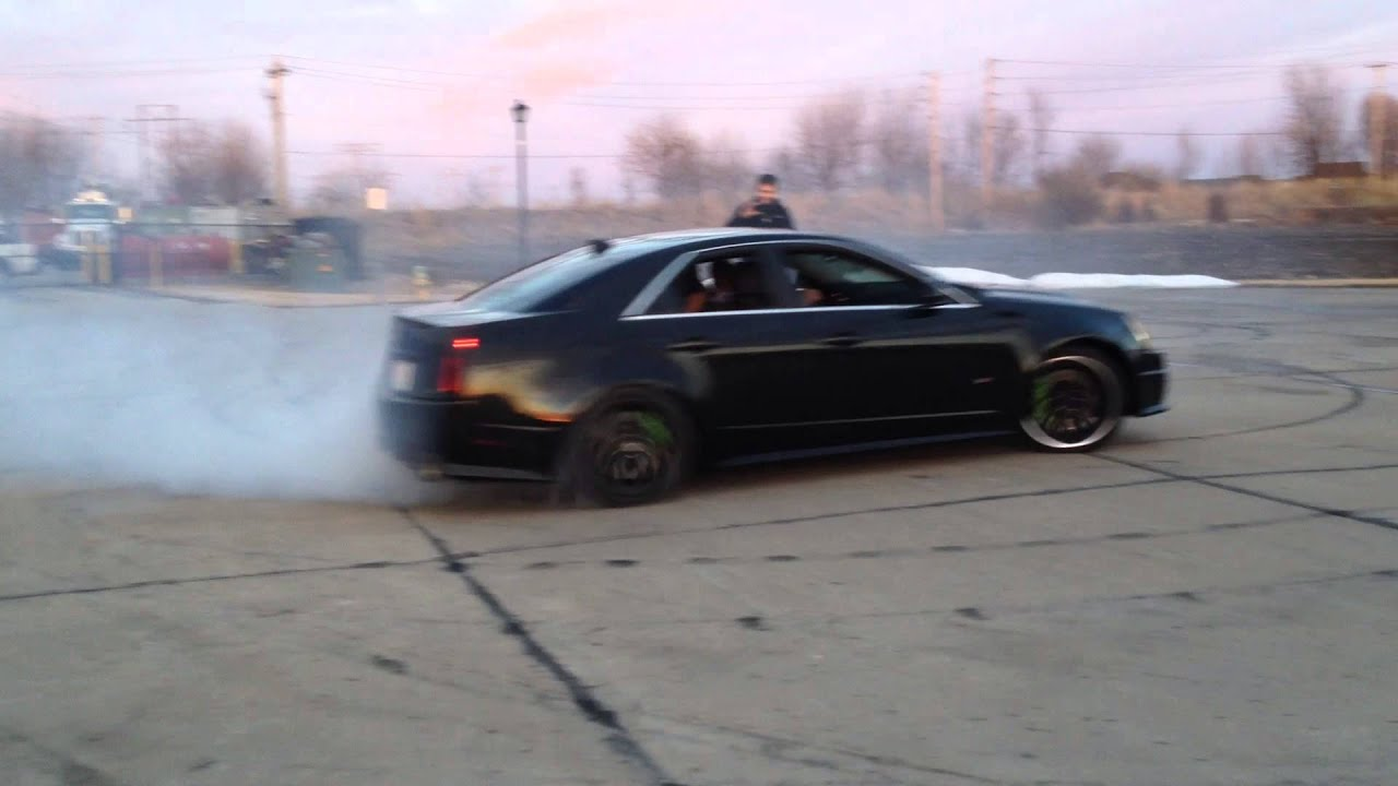 900hp Cadillac Mobster Cts V Drift Sesh Youtube