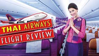 Flight Review Thai Airways Karachi to Bangkok