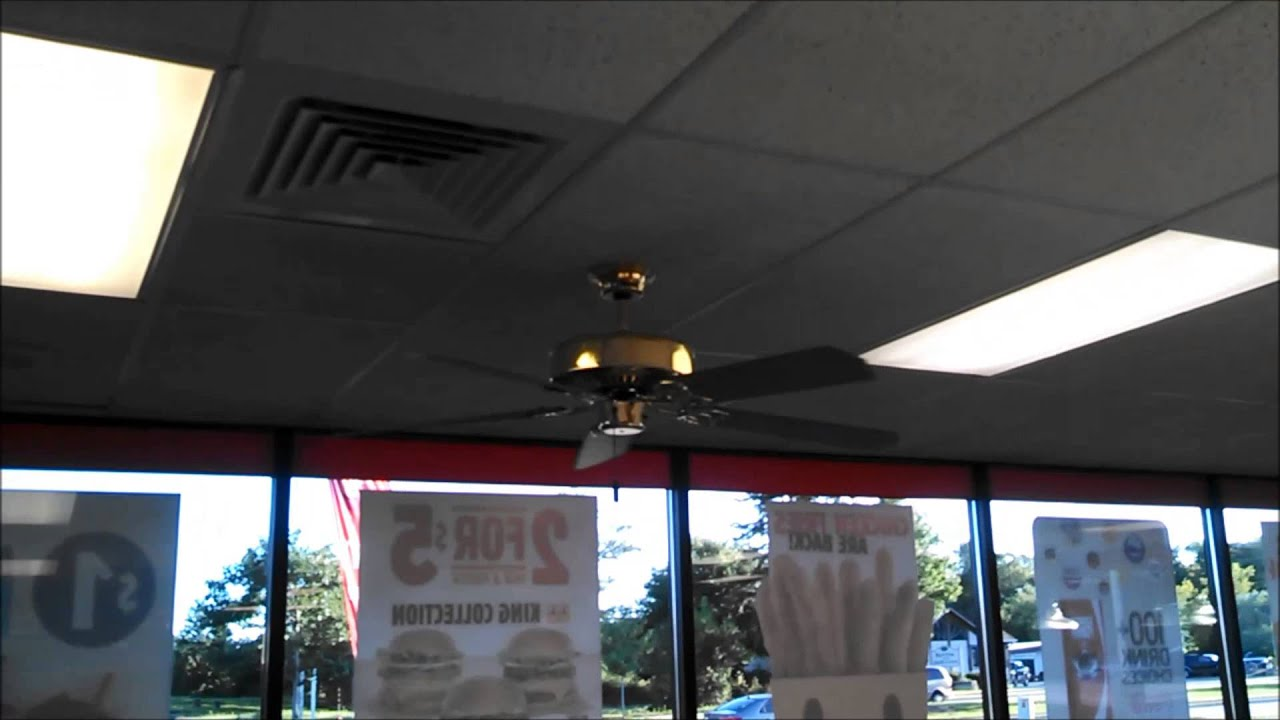 Concord Ceiling Fans In A Burger King Youtube