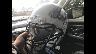 FORGOT MY HELMET TO FOOTBALL GAME | GOING FOR 3RD SHUTOUT IN A ROW | TigerFamilyLife~