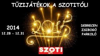 Tűzijátékot 2014-ben is a SZOTI-tól.