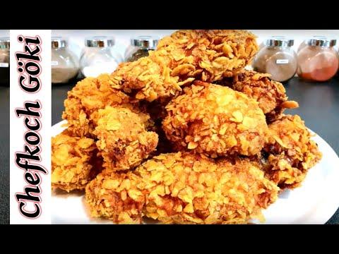 KFC vs Göki  Wer macht bessere Crispy Chicken Wings ? Das Rezept ! / Folge 28