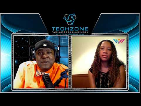 Tech Zone With Paul Amadeus Lane - Ep. #49 Part 1 - Wonder Women Tech