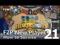Hearthstone - F2P New Player: How to Survive #21 - Skipping ahead a little bit