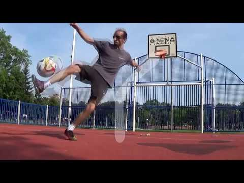 How to do Knee AKKA Street Football Dribbling Tutorial by AL