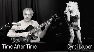 Time After Time - Cyndi Lauper - fingerstyle guitar - Jake Reichbart