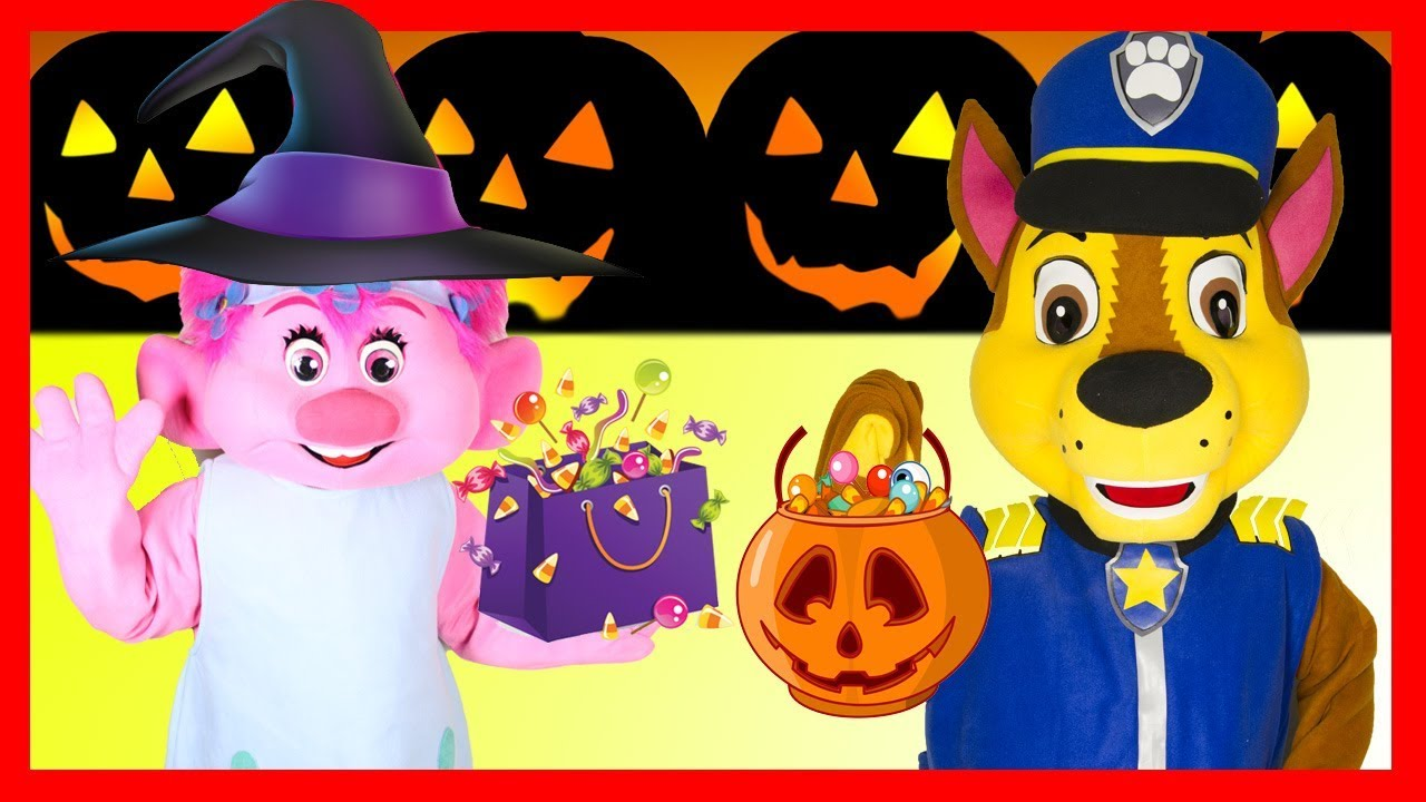 Nick Jr Paw Patrol Halloween Costume Party at Skye's House with ...