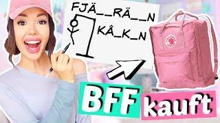 Wörter erraten und BFF muss es kaufen 💰| ViktoriaSarina