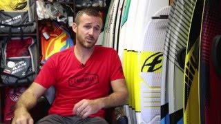 Kiter à la Réunion_Portrait de Pierre Godet