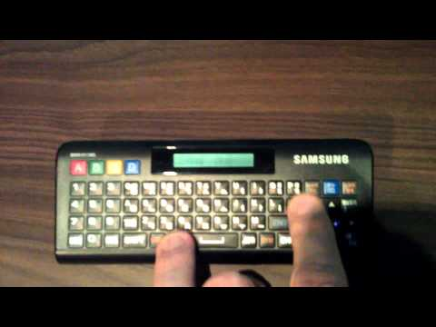 Attempting to pair Samsung QWERTY Remote