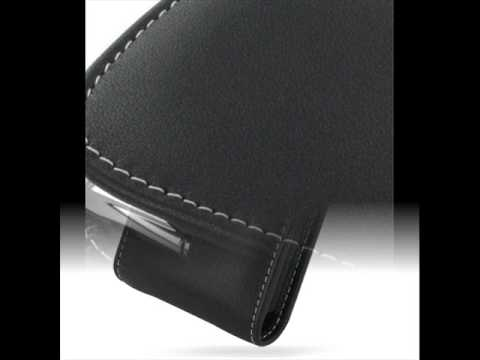 PDair Leather Case for Acer Tempo X960 - Vertical Pouch Type (Black)