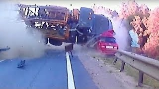 Ultimate Retardet Drivers Fails, Extreme Driving Fails On Dashcam JULY 2017