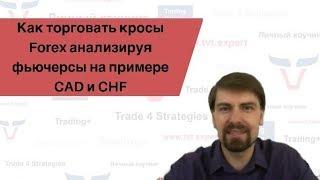 Как торговать кросы Forex анализируя фьючерсы на примере CAD и CHF