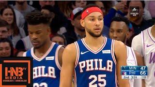 Sixers vs Timberwolves 1st Half Highlights | 01/15/2019 NBA Season