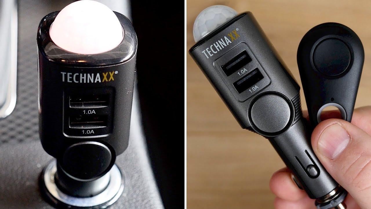 alarmanlage im auto wohnmobil nachr sten einbauen technaxx tx 100 autoalarm. Black Bedroom Furniture Sets. Home Design Ideas