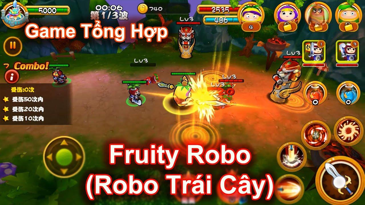 [Android/iOS] – Fruity Robo (Robo Trái Cây) – Game Cực Hay