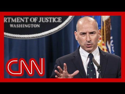 Watch DOJ, FBI briefing on pro-Trump Capitol riot