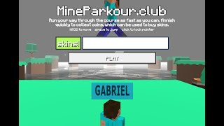 Parkour con Steve de Minecraft || MineParkour Club Gameplay