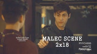 Video Shadowhunters 2x18 Magnus Alec Talk about Trust  Malec Season 2 Episode 18 download MP3, 3GP, MP4, WEBM, AVI, FLV Oktober 2018