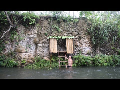 Primitive Technology: Build House on the Cliff
