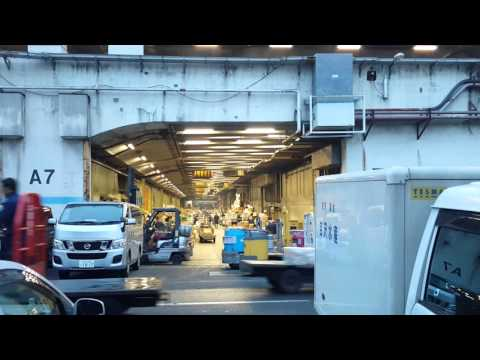 #transport #traffic at #Tokyo #wholesale #vegetable #market