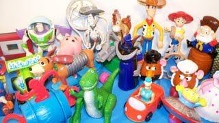 1999 DISNEY'S TOY STORY 2 SET OF 20 McDONALD'S HAPPY MEAL MOVIE KIDS TOYS VIDEO REVIEW