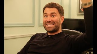 EDDIE HEARN RAW! - ON DAVID HAYE PULLOUT, BELLEW, JOSHUA, HIGGINS/PARKER, FURY, WHYTE, BROOK & KHAN